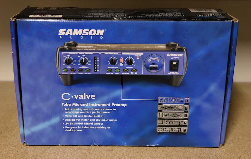 Samson C-valve buizenvoorversterker