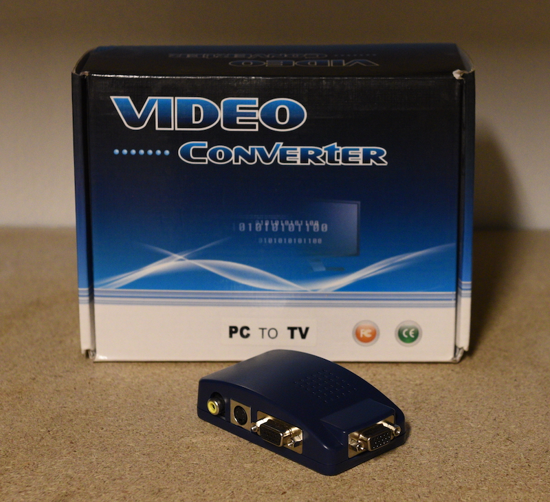 VGA to sVideo