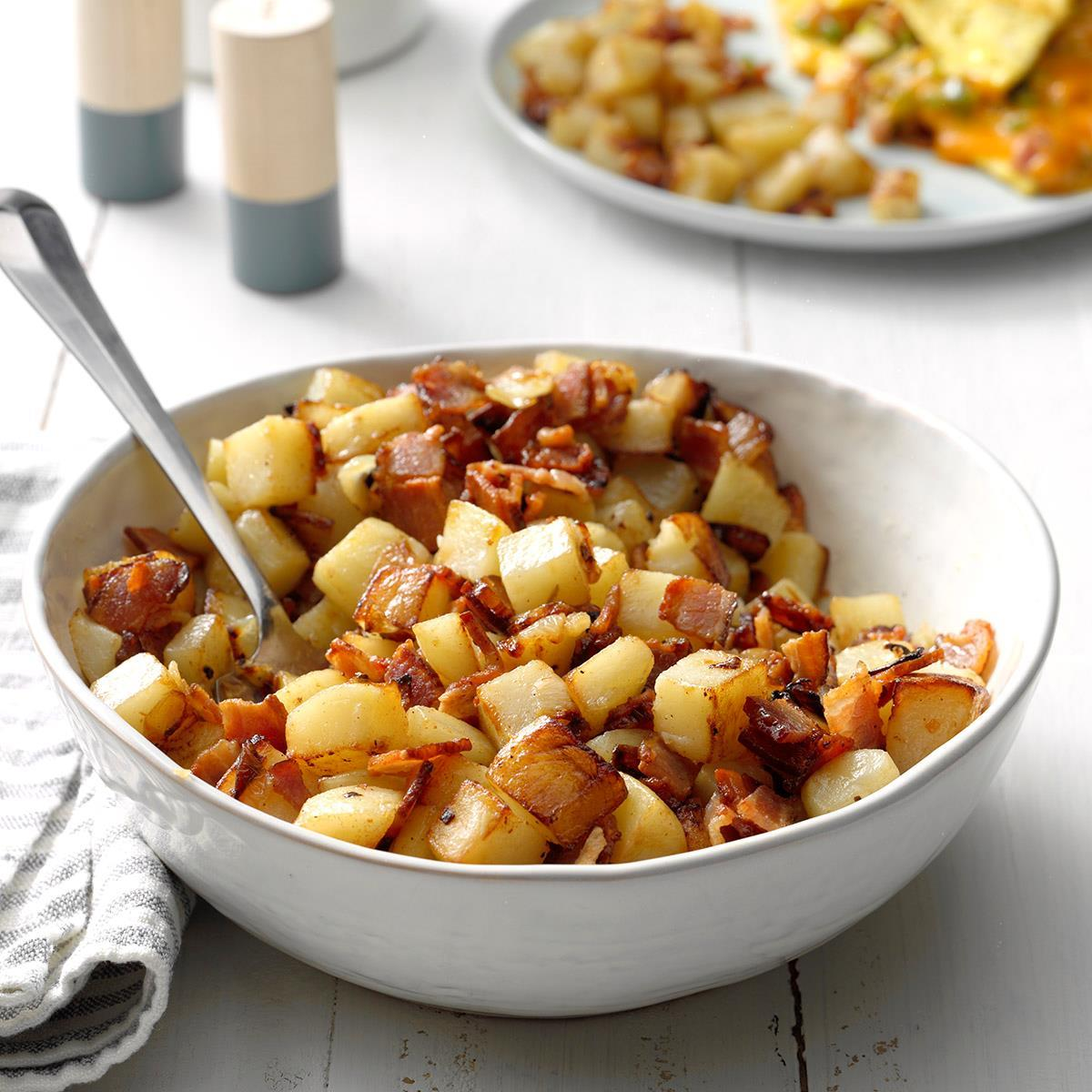 Click here for the recipe. Home Fries Recipe How To Make It Taste Of Home