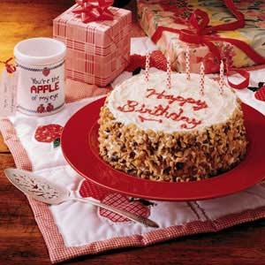 Grandparents Birthday Cake Recipe Taste Of Home