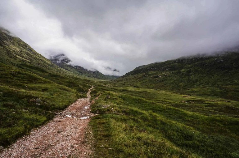 West Highland Way trail