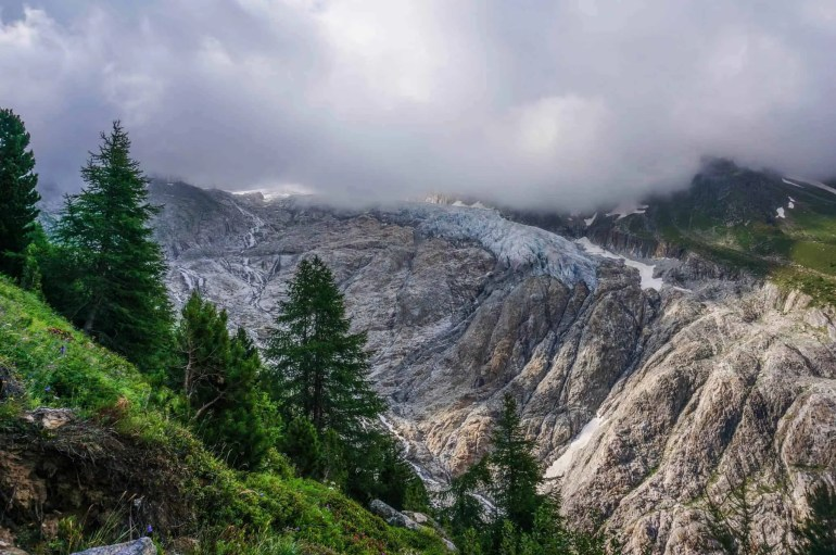 The Trient Glacier.