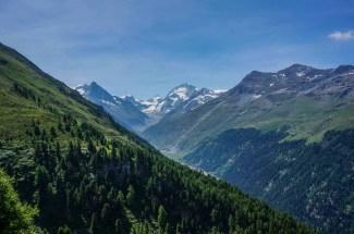 Big views on the way to Gruben.