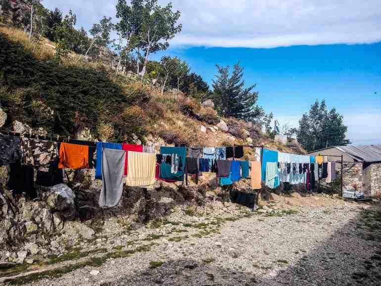 Gite U Fagone laundry