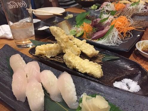 マグロ サワラ 寿司 天ぷら