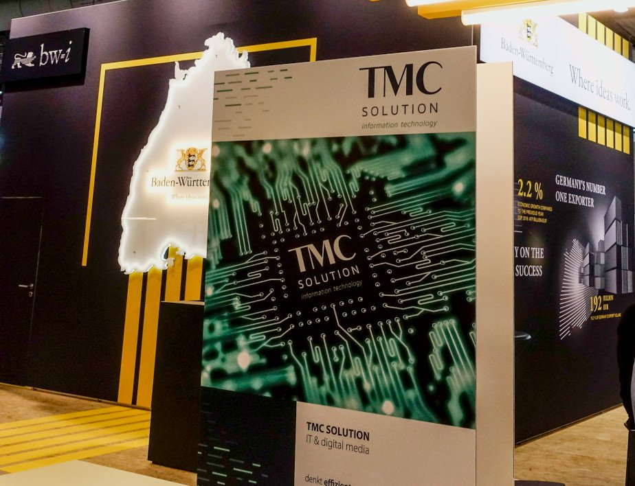 CEBIT 2018 TMC SOLUTION Stand