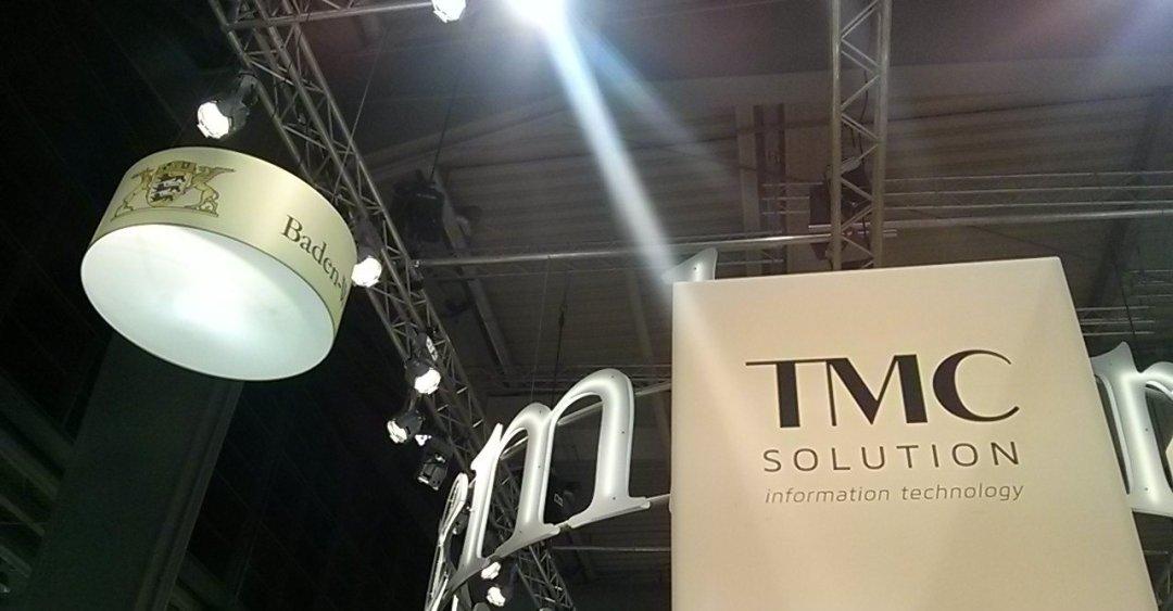CEBIT 2018 TMC SOLUTION Logo Cube BW - CEBIT 2018