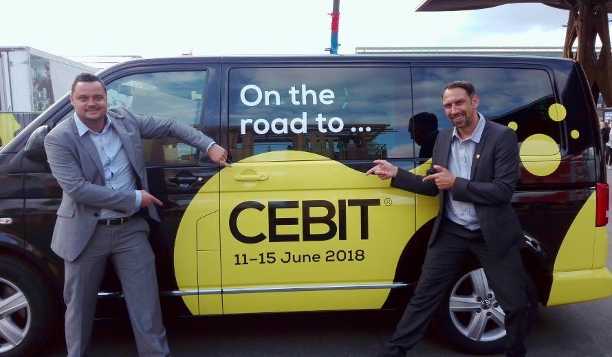 CEBIT 2018 TMC SOLUTION on the road to CEBIT PC und MST - CEBIT 2018