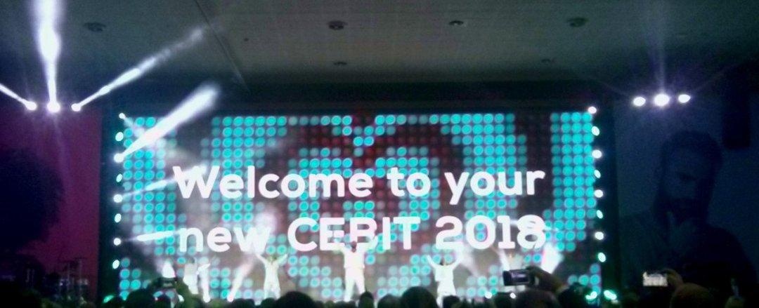 CEBIT 2018 Welcome to your new CEBIT - CEBIT 2018