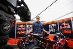 SPIELBERG,AUSTRIA,11.AUG.16 - MOTORSPORTS, MOTORCYCLE - MotoGP, Grand Prix of Austria, Red Bull Ring, preview. Image shows Alex Hofmann and the new KTM. Photo: GEPA pictures/ Daniel Goetzhaber