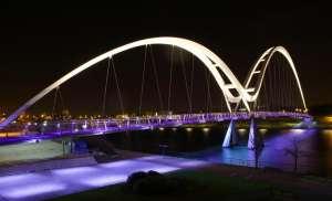 Infinity Bridge,Stockton,Cleveland,England