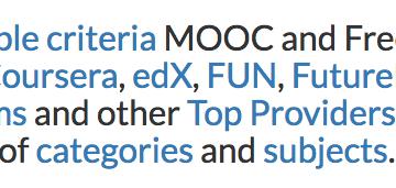 MOOC List – MOOC課程資訊統整網站