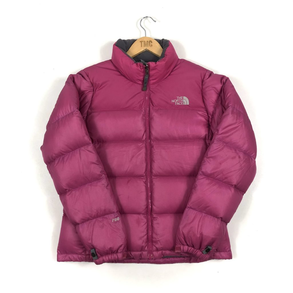 Women's The North Face Nuptse 700 Puffer Jacket - Pink - S - TMC Vintage
