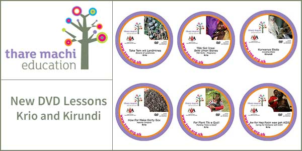 Six new DVDs released – five in Krio and one in Kirundi
