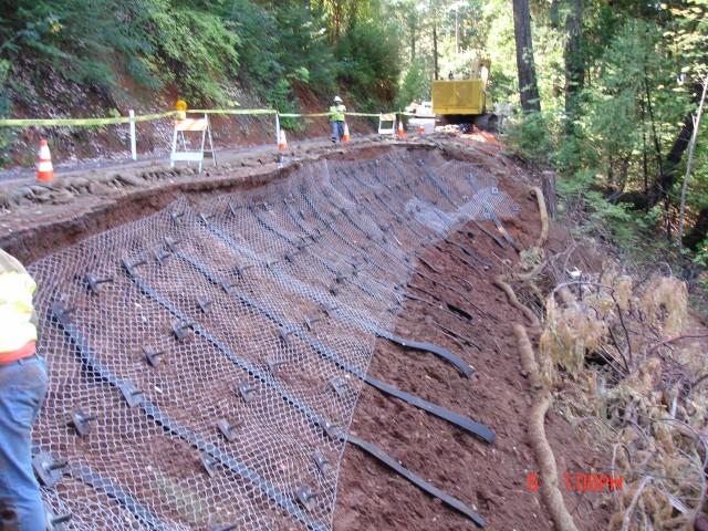 Thunder Mountain Enterprises Inc » Slope Repair