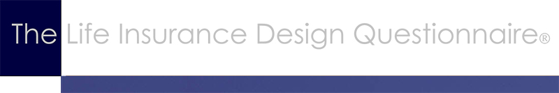 The Life Insurance Design Questionnaire Banner