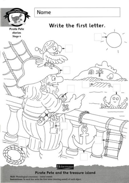Storyworlds Yr1/P2 Stage 4, Fantasy World, Workbook ( 8