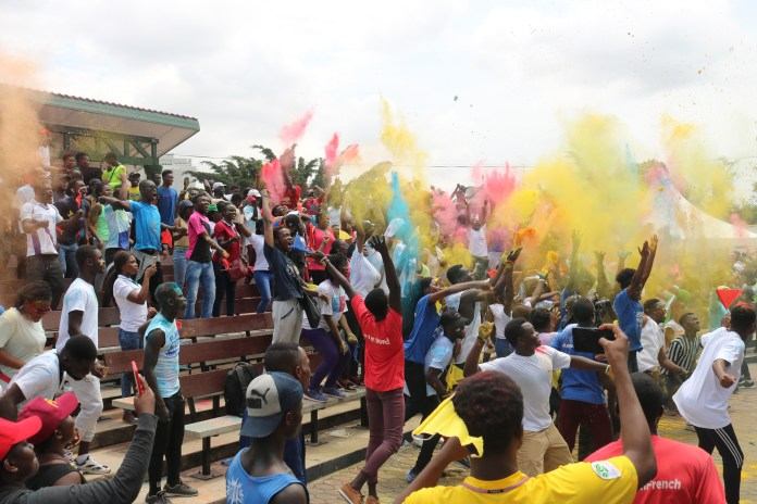 Ghana Youth Walk brings Accra to a stand still