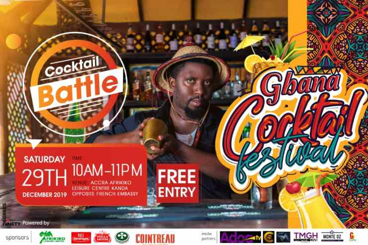 Ninety Degrees Events Management Company Announces Dates For Ghana Cocktail Festival 2019