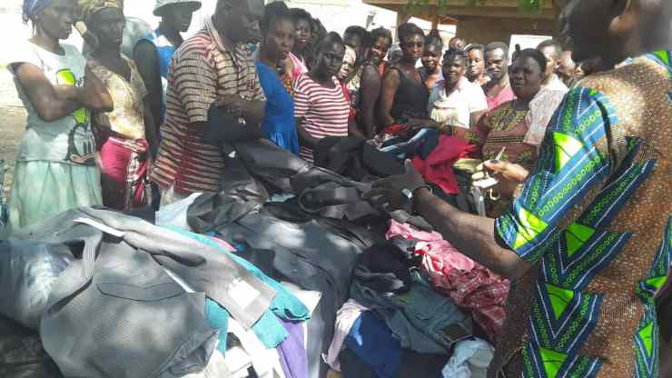 Stacy Foundation donates to Asuogyaman District.