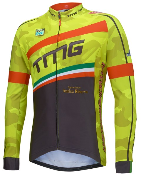 Slim Long Sleeve Cycling Jersey