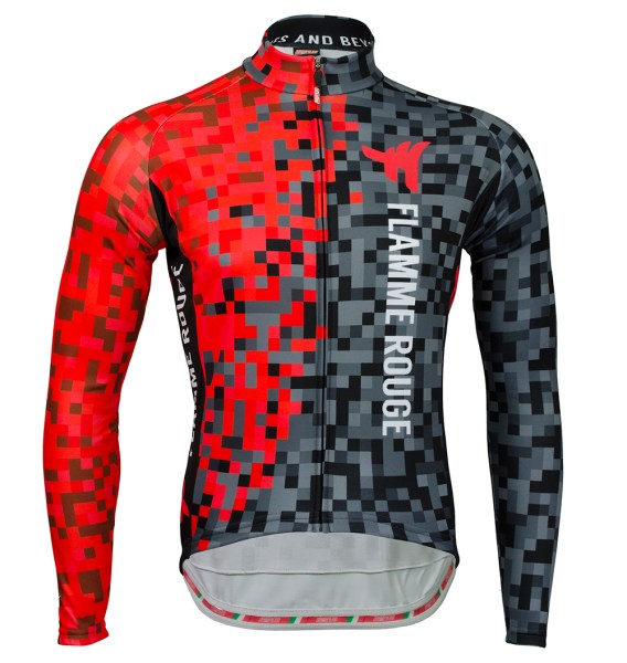 Long Sleeve Thermopile Cycling Jersey