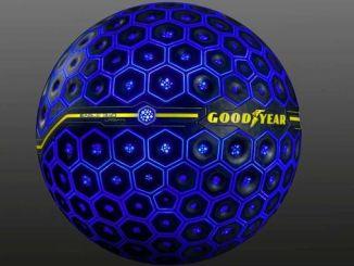 Сферична концептуальна шина Goodyear виведе штучний інтелект на дороги