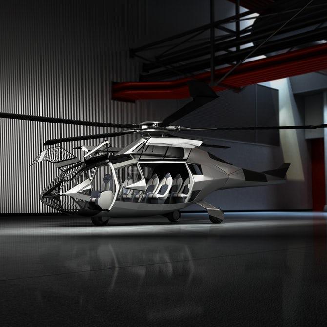 FCX-001 - концепт футуристичного вертольота від компанії Bell Helicopter