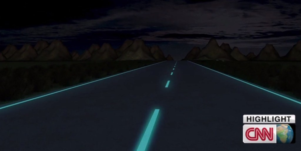 Сяючі смуги Smart Highway