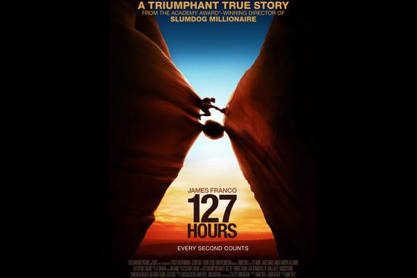 127 часов(2010) фільми засновані на реальних подіях