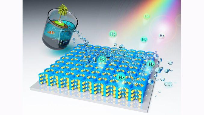 Новий наноматеріал дозволяє отримувати водневе паливо з морської води
