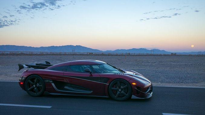 Автомобіль Koenigsegg Agera RS стає найшвидшим в світі серійним автомобілем
