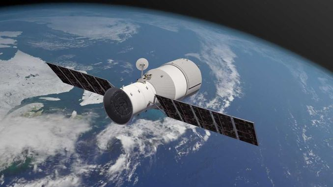 Уламки китайської орбітальної станції «Тяньгун-1» впали в Тихий океан