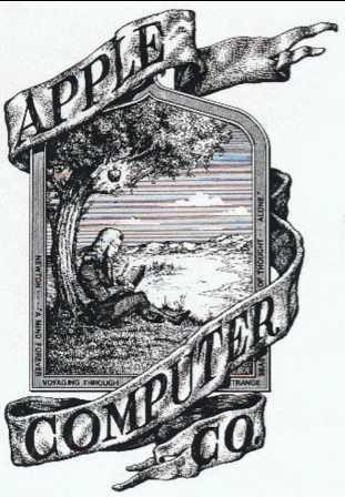 Перший логотип Apple