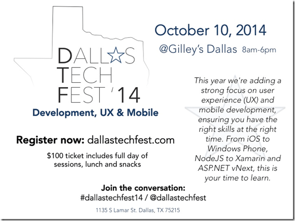 2014 Dallas TechFest