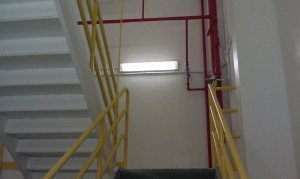 TMI Paints Mill Stairwell