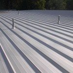 TMI Coatings Was Contracted To Coat a Machining Tool Roof.