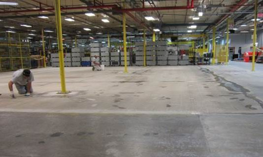 TMI restores concrete floors
