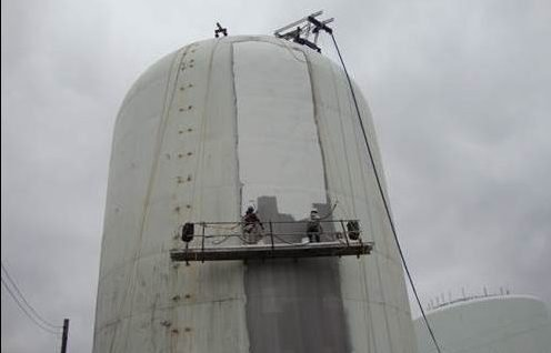 TMI Paints Large Standpipe