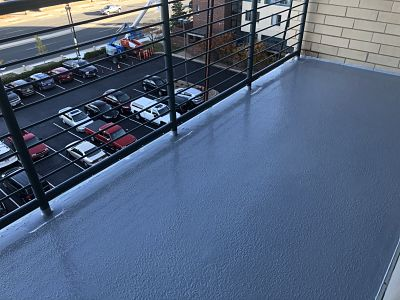 Outside Balcony After Waterproof Coating System