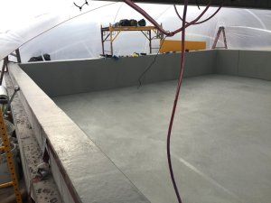 TMI Coatings Container Dike Lining
