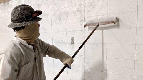 TMI Coatings Arena RestorationInterior Wall Painting
