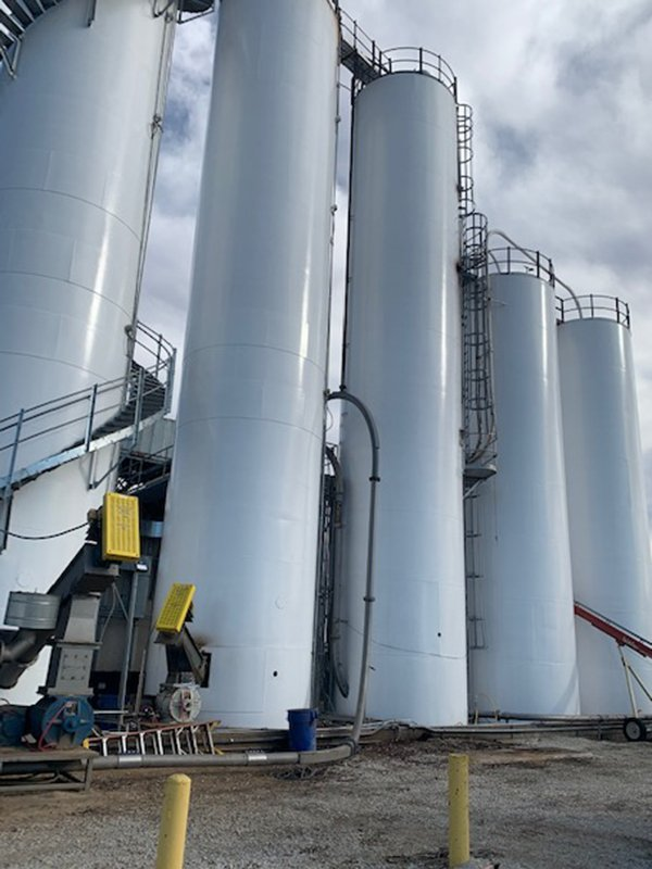 TMI Coatings Exterior Silo Restoration & Painting