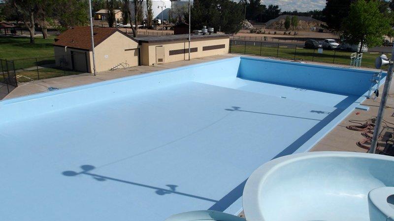 TMI Coatings Municipal Pool Restoration Painting