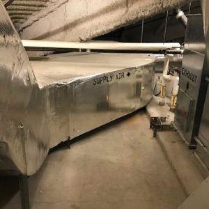 TMI Coatings before floor coating