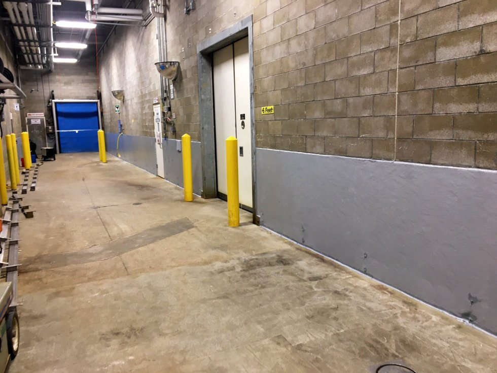 Photo of Cooler Room Walls by TMI Coatings