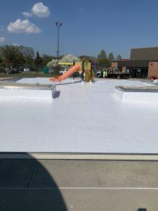 Photo of TMI Coatings Pool Restoration Project