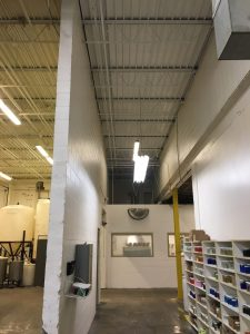 Photo of Metal Ceiling Painting by TMI Coatings