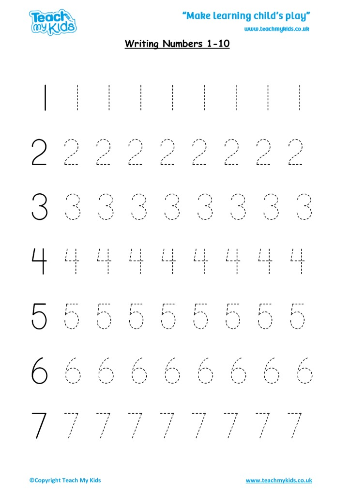 83 NUMBERS WORKSHEET FOR KINDERGARTEN PDF