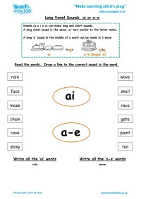 Vowel Sounds Worksheets For Kindergarten Pdf - Kidz Activities